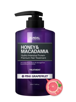 "Кондиционер для волос ""Honey & Macadamia Hair Treatment"" PINK GRAPEFRUIT Kundal"