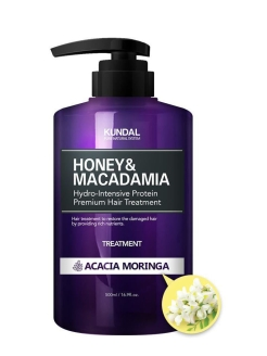 "Кондиционер для волос ""Honey & Macadamia Hair Treatment"" ACACIA MORINGA Kundal"