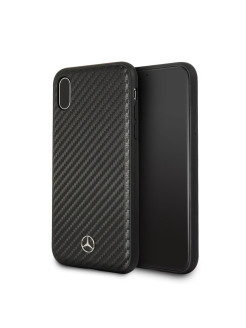 Mercedes для iPhone X Dynamic Hard PU, Carbon Black MERCEDES-BENZ