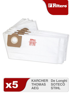 Vacuum cleaner bag, 5 pieces., KAR 15 Filtero