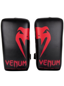 Пэды Venum Giant Kick Pads Black/Red (пара) Venum