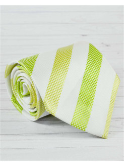 Tie silk color green FABEER-CASTELL