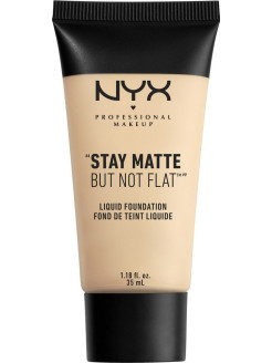 Матирующая тональная основа. STAY MATTE NOT FLAT LIQUID FOUNDATION - ALABASTER 013 NYX PROFESSIONAL MAKEUP