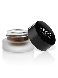 Гелевая подводка. GEL EYELINER & SMUDGER - CHARLOTTE - BROWN 02 NYX PROFESSIONAL MAKEUP