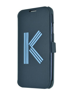 Чехол Kenzo для iPhone 5S/SE Big K Folio Blue KENZO