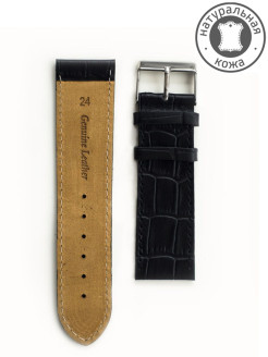 Calfskin leather watchband D&A.