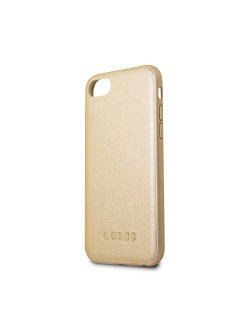 Чехол Guess для IPhone 7/8 Iridescent Hard PU Gold GUESS