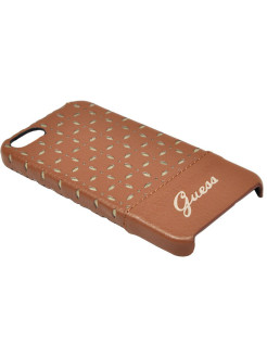Чехол Guess для iPhone 5S/SE GIANINA Hard Cognac GUESS