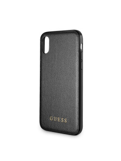 Чехол Guess для IPhone X Iridescent Hard PU Black GUESS
