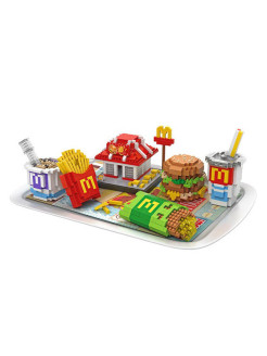Конструктор Fast Food Set Meal 9391 Germes