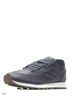 Кроссовки CL LTHR CLEAN DU LEAD/CHALK-GUM Reebok