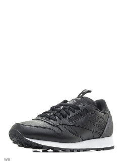 Кроссовки CL LEATHER IT BLACK/COAL/WHITE Reebok