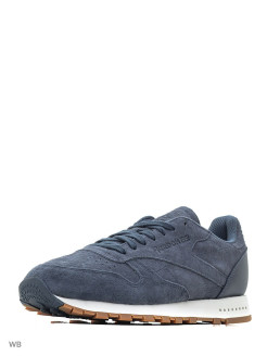 Кроссовки CL LEATHER SG SMOKY INDIGO/CHALK-G Reebok