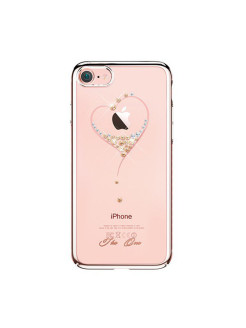 Чехол с Swarovski Kingxbar Starry Sky Rose для iPhone 8/7 Heart Kingxbar