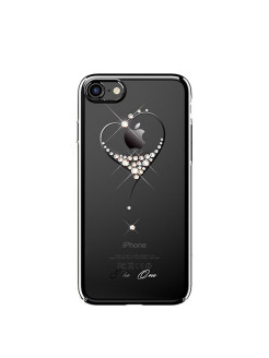 Чехол с Swarovski Kingxbar Starry Sky Black для iPhone 8/7 Heart Kingxbar