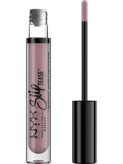 Тонирующее масло для губ.  SLIP TEASE FULL COLOR LIP OIL - ENTICE 02 NYX PROFESSIONAL MAKEUP