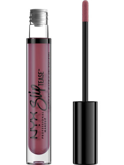 Тонирующее масло для губ.  SLIP TEASE FULL COLOR LIP OIL - BANG BANG 04 NYX PROFESSIONAL MAKEUP