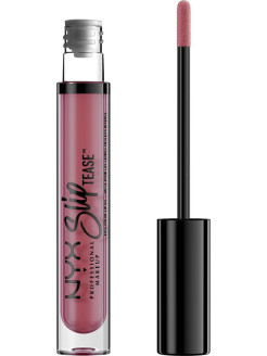 Тонирующее масло для губ.  SLIP TEASE FULL COLOR LIP OIL - LOWKEY 08 NYX PROFESSIONAL MAKEUP