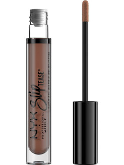 Тонирующее масло для губ.  SLIP TEASE FULL COLOR LIP OIL - BEYOND BASIC 10 NYX PROFESSIONAL MAKEUP