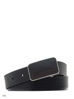 Ремень SQUARE BUCKLE BELT 2 BLACK LEE