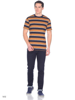 Футболка STRIPE TEE NAVY DROP LEE