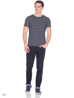 Футболка CORE STRIPE TEE NAVY DROP LEE