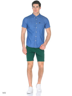 Шорты SLIM CHINO SHORT FRESH GREEN LEE