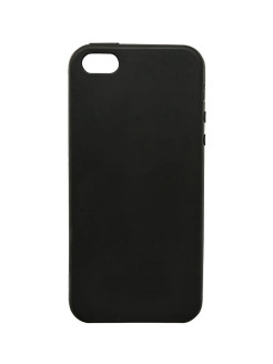Чехол - накладка Mediagadget ESSENTIAL BLACK COVER для iPhone 5/5S/SE (черный) MEDIAGADGET