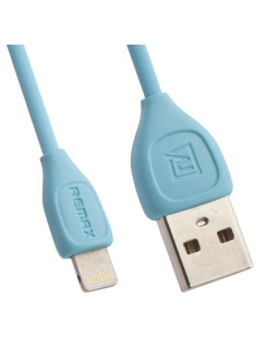 Дата-кабель USB REMAX Lesu Series Cable RC-050i Apple 8 pin (синий) REMAX