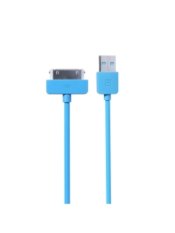 Дата-кабель USB REMAX Light Series 1M Cable RC-06i4 Apple 30 pin REMAX