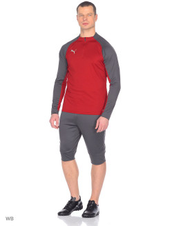 Лонгслив ftblNXT 1 4 zip Top Core PUMA