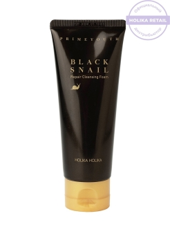 Пенка Prime Youth Black Snail Cleansing Foam Holika Holika
