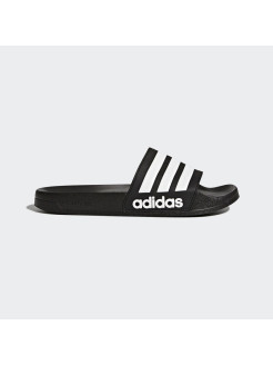 Шлепанцы CF ADILETTE core black,ftwr white,core black Adidas