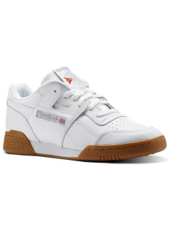 Кроссовки WORKOUT PLUS WHITE/CARBON/CLASSIC RED/REEBOK ROYAL-GU Reebok