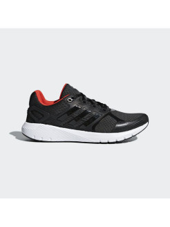 Кроссовки duramo 8 m CARBON S18,core black,HI-RES RED S18 Adidas