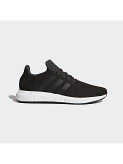 Кроссовки SWIFT RUN CARBON S18,core black,medium grey heather Adidas