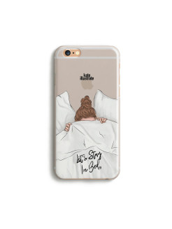 "Чехол ""Kateillustrate"" (Stay In Bed) для iPhone 6/6S Ipapai"