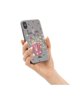 "Чехол ""Kateillustrate"" (Popcorn Love) для iPhone X/XS Ipapai"