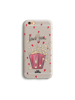 "Чехол ""Kateillustrate"" (Popcorn Love) для iPhone 6/6S Ipapai"