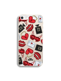 "Чехол ""Kateillustrate"" (Love Pattern) для iPhone 5/5S Ipapai"