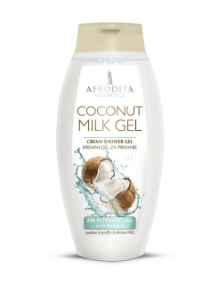 Крем-гель для душа Coconut milk 250мл AFRODITA COSMETICS
