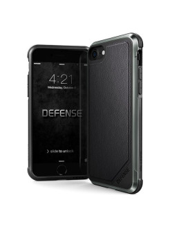 Чехол X-Doria Defense Lux для iPhone 8/7 Black Leather x-doria