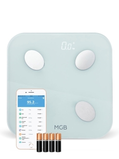 Умные весы MGB Body fat scale Glass Edition white MGB