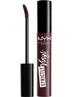 Блеск для губ. STRICTLY VINYL LIP GLOSS - Night Walker 01 NYX PROFESSIONAL MAKEUP