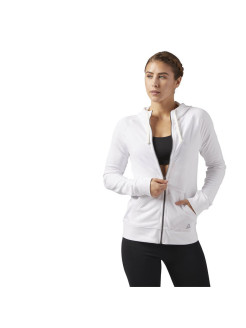 Джемпер EL FT FULL ZIP WHITE Reebok