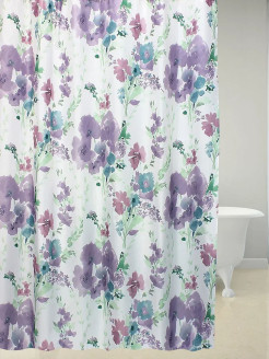 Штора 180х180 д/в ROMANTIC FLOWER  (мульти) Bath Plus