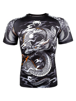 Рашгард Dragon's Flight Black/White S/S Venum