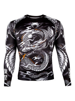 Рашгард Dragon's Flight Black/White L/S Venum
