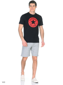 Футболка Chuck Patch Star Fill Tee                                                                   Converse
