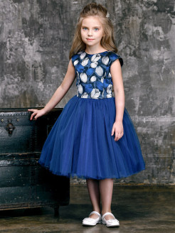 Платье Лорелин Royal Blue Alisia Fiori